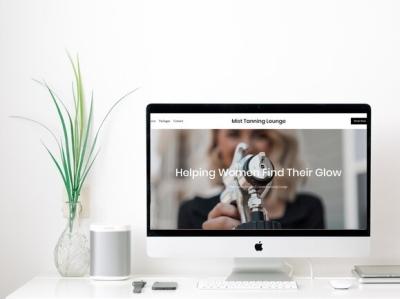 Mist Tanning   Website Design