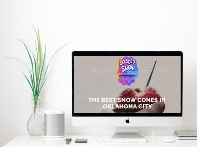 Loaded Snow   Website Design