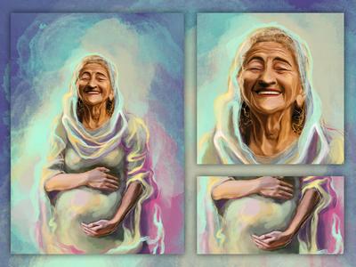 ELIZABETH | book illustration