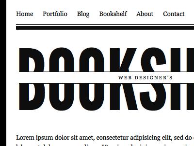 Web Designer's Bookshelf