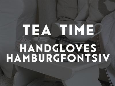 Tea Time – Fontdesign