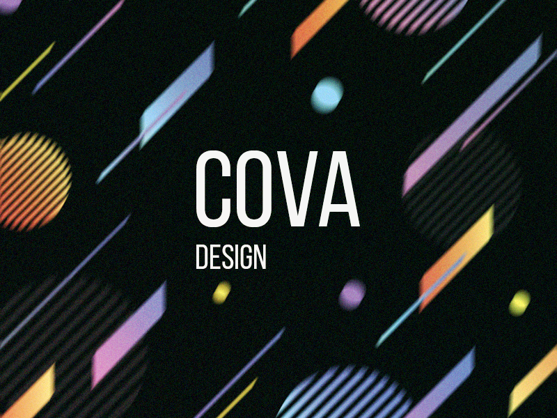 Cova illustrator lettering flat typography branding logo vector ui illustration