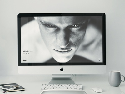 Landing Page ( above the fold )