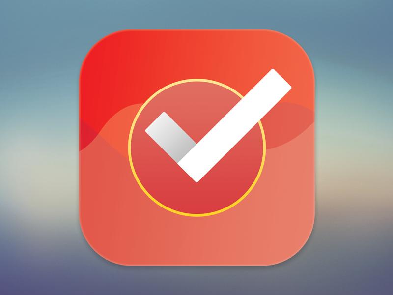 App Icon app icon tracker list check 005 app icon dailyui