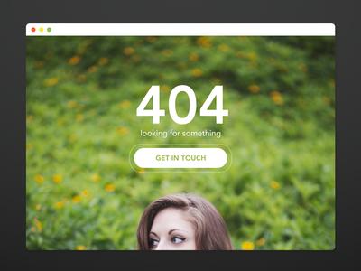 404 landing page