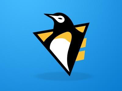 Pens Logo Sticker Design!