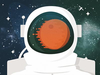 Exploration lost texture astronaut space suit reflection space monthly challenge blackformat exploration