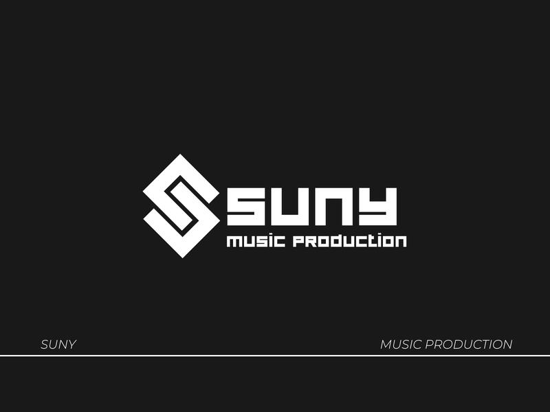 Suny- Music Production music production icon branding logodesign brand identity logo lettering type typography design