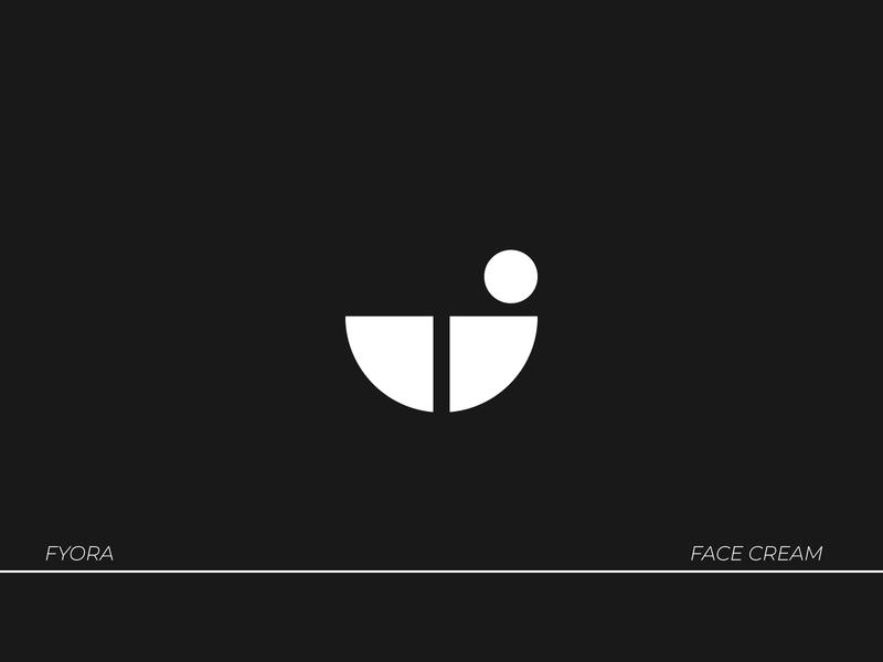 Fyora- Cream Logo logo mark branding icon logodesign type brand identity vector logo typography design