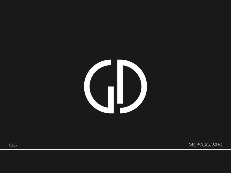 GD Logo visual identity brand identity vector logo logodesign branding type typography design