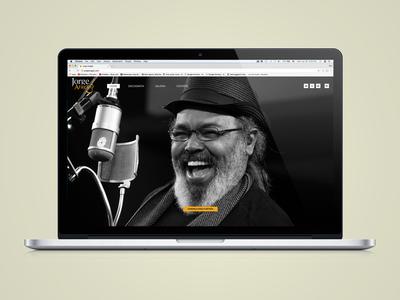 Website Jorge Aragão