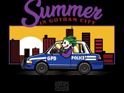 Summer In Gotham City