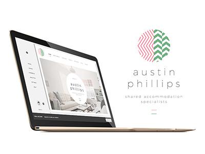 austin phillips website design squarespace ui website