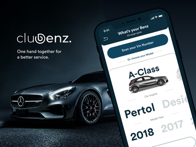 Clubenz   Mercedes Owners buddy sketch android ios clean services community car benz mercedes app ui ux product design
