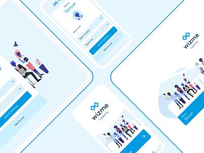 Wizme | Be a wizard 🧙🏻♂️ website illustration adobexd product design design ux ui web webdesign managment booking wizme signup register