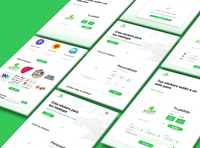 Custom stickers platform concept - Stuff