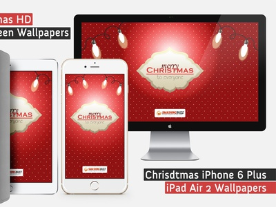 Christmas 2015 Wallpapers for PC, iPhone 6 Plus and iPad Air 2