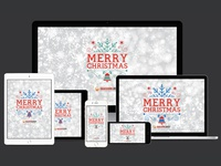 Happy Christmas 2015 Wallpapers For All Devices Dribbble
