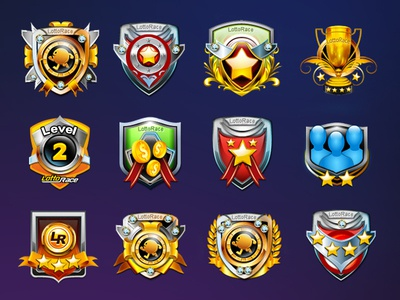 Player Game Ranking Icons