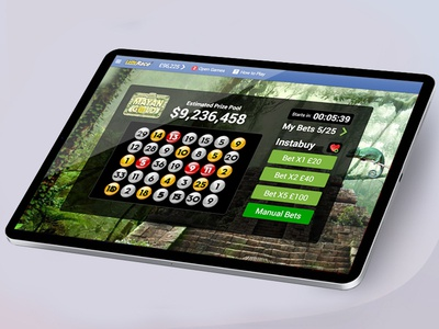Tablet Mayan Gold UI