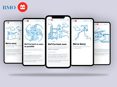 BMO Error Pages