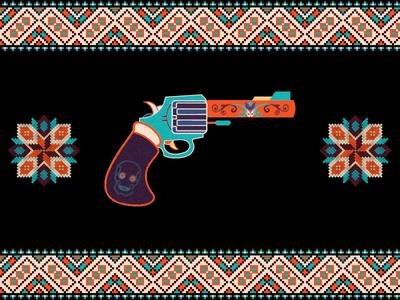 Gun and patterns