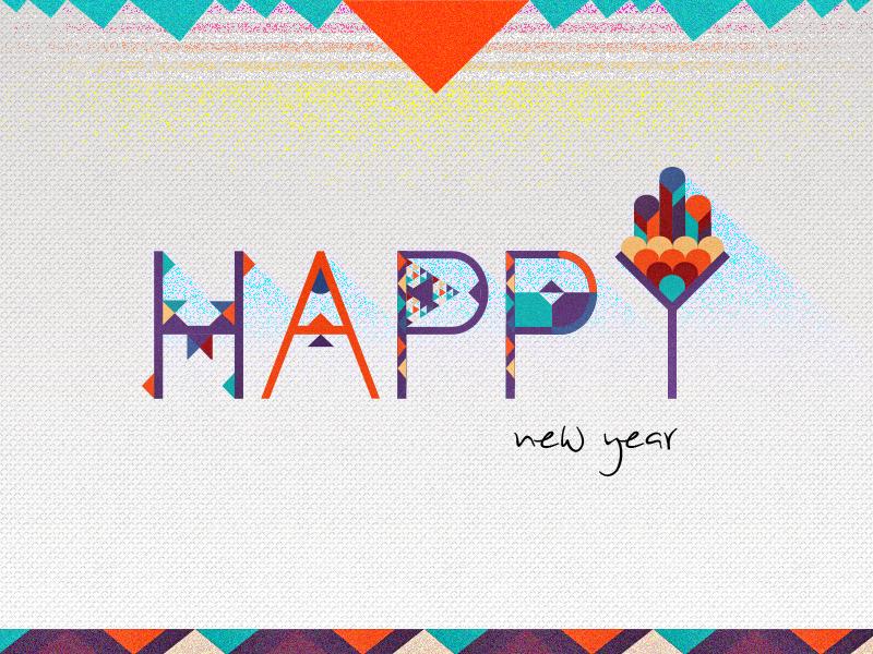 Happy New Year celebration new year greetings 2014