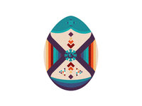 My version of a Faberge Easter egg 2