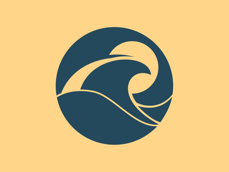 Third Coast Films Logo // Wave Design logo design logo webdesign branding waves wave icon sunrise sunset sea water coast sun beach wave logo wave design wave