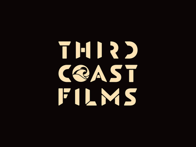 Third Coast Films // Brand Identity colorful illustrator logo design logo logodesign wave logo surface pattern video production branding agency brand identity brand design branding and identity film surf wave sun branding