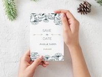 Free Save The Date Card Template