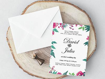Free Classic MS Word Wedding Invitation Template wedding invitations wedding invitation wedding design wedding invite wedding card wedding design freebie freebies