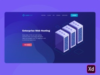 Free Hosting Landing Page Template