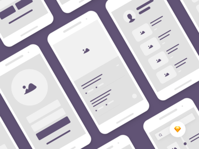 Sketch Ui Kit designs, themes, templates and downloadable