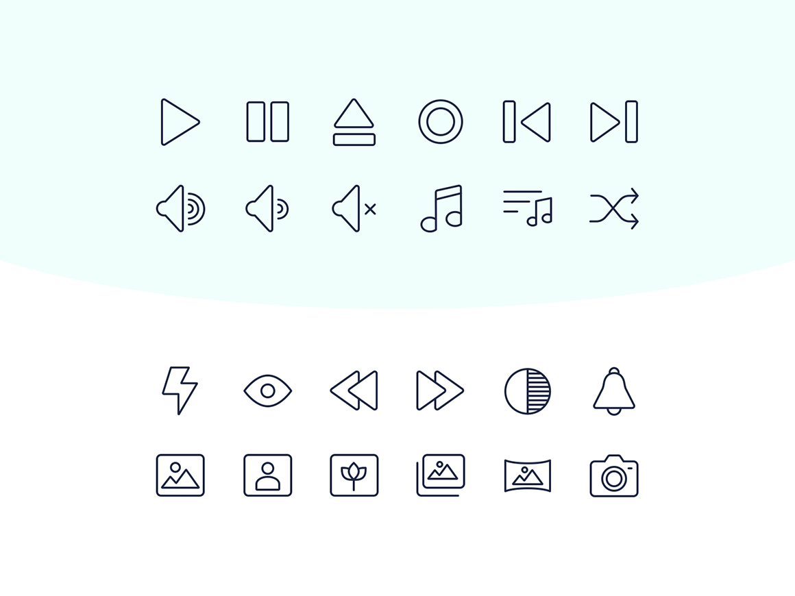 60 SVG free multimedia icons multimedia icon free svg icon svg free multimedia icon free icon icon ui design interface freebie freebies