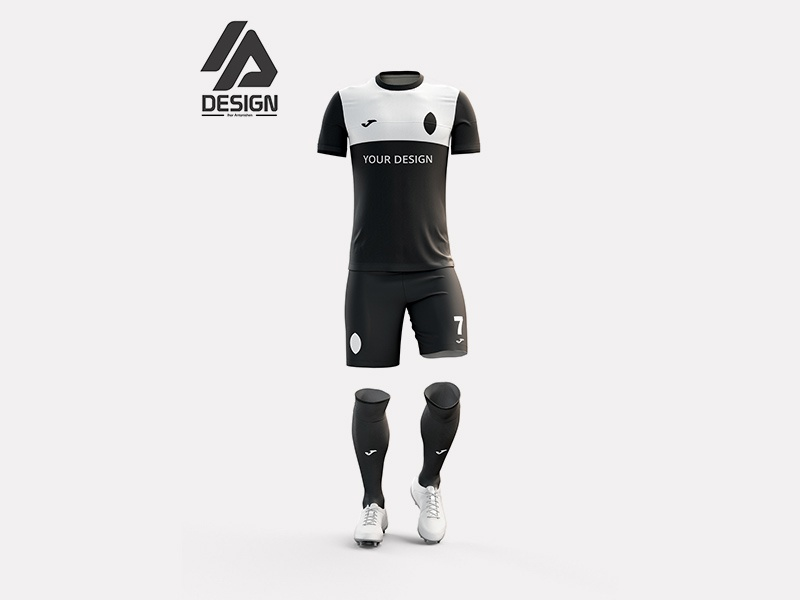 Download Free Football Jersey Mockup Kit by Andy W on Dribbble Free Mockups