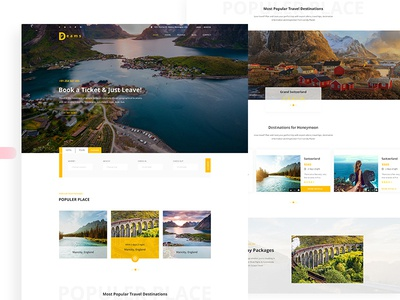 Free Tour Business Web Template