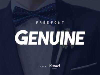 Genuine Free Type Font