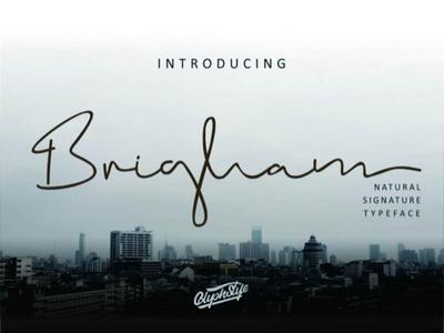 Brigham Signature Free Font