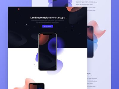 Venus - Free Html App Showcase Template