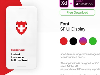 Insurance App Animated Template