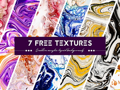 Free Acrylic Paint Textures