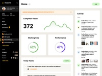 Free Project Management Web App Template