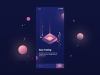 Free Cryptocurrency Screens Interaction For Adobe Xd