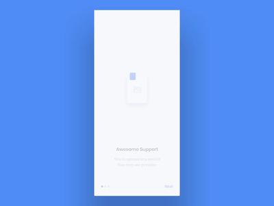 Free Easycloud App UI Template