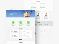 Free Adobe Xd Landing Page Template