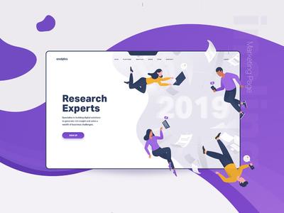 Free Research Web Template Kit