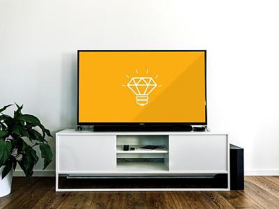 Free SmartTV Mockup freebies freebie design interface mockup design psd mockup free psd free mockup mockup