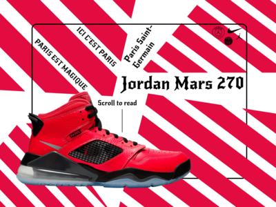 Jordan Mars 270 PSG