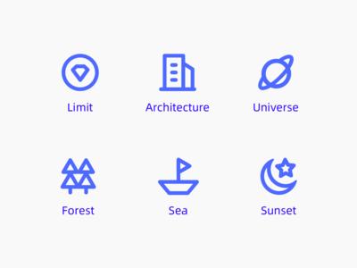 App    功能图标